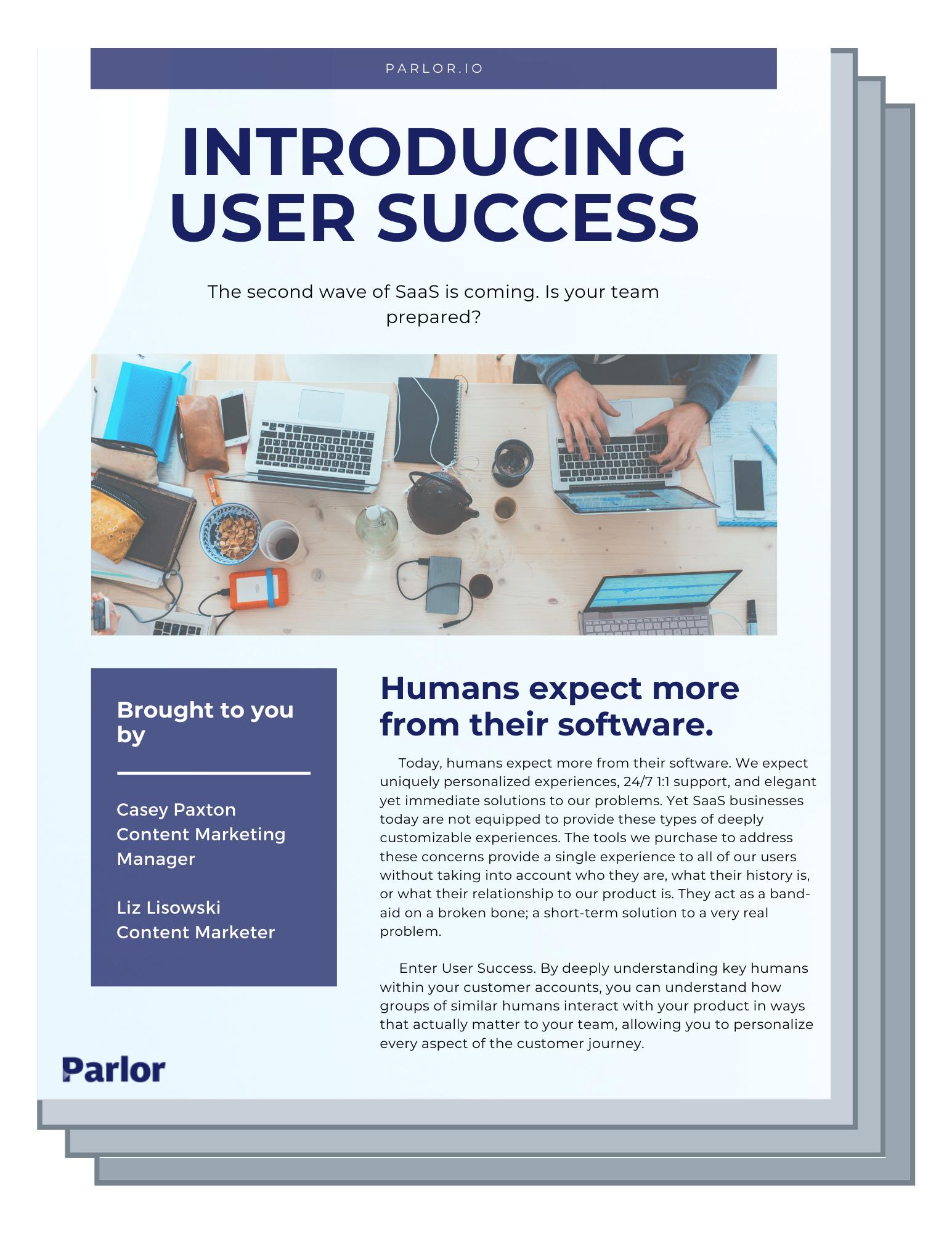 User Success 101